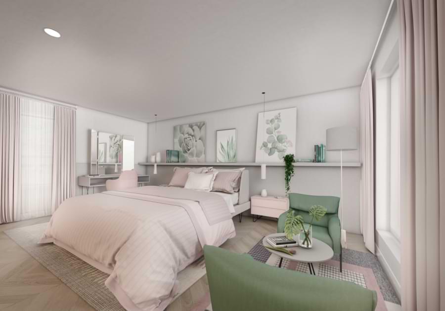 Blenheim Grove second floor bedroom
