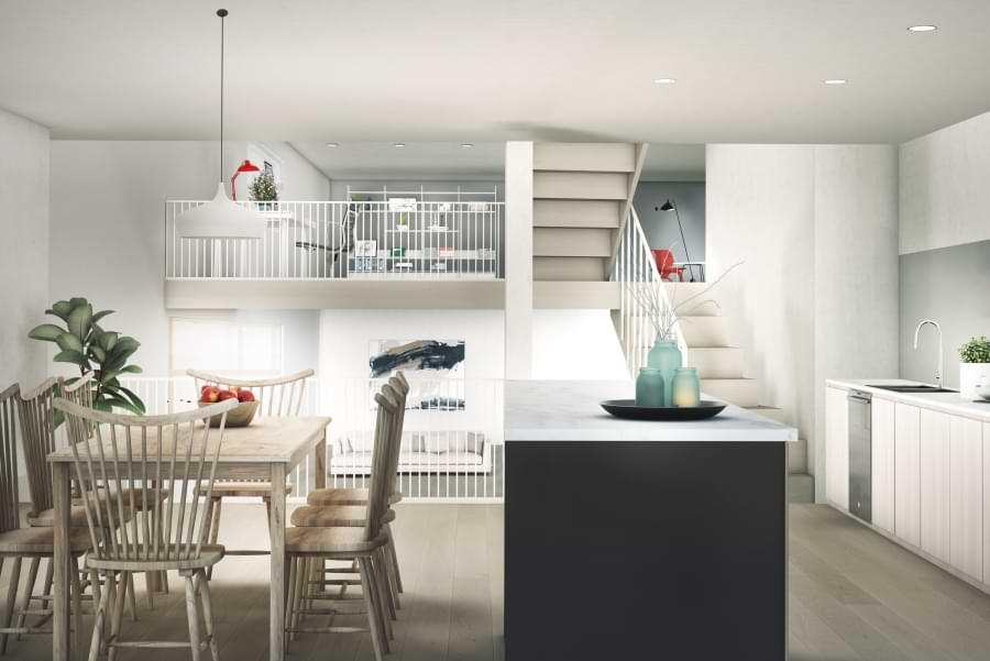 Blenheim Grove ground floor kitchen